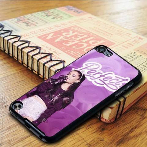Ariana Grande Perfect Purple iPod 6 Touch Case