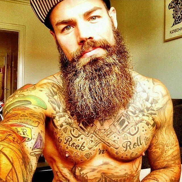 640 640 pixels for Red beard tattoo