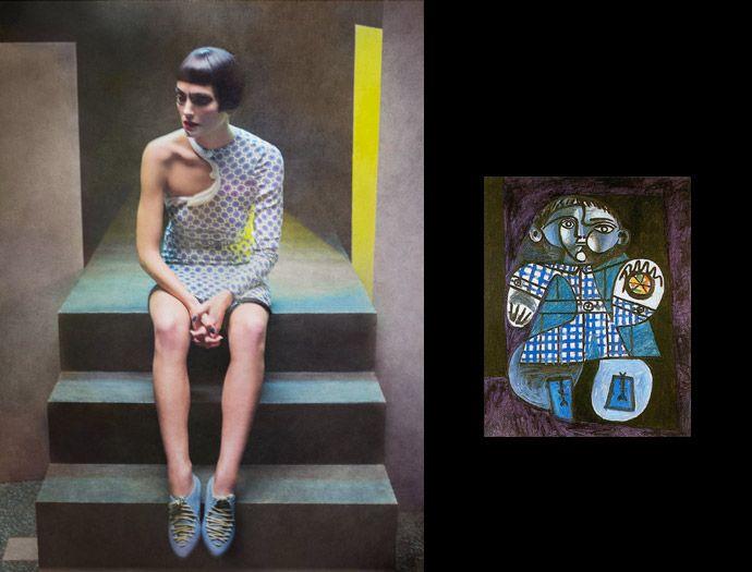 Picasso por Eugenio Recuenco