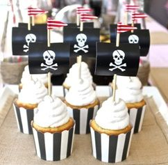 Pirate and Princess Themed Party Food   Party Invitations UK Blog