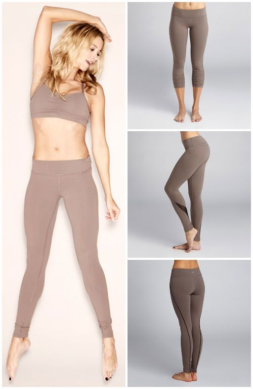 TRENDING: Leggings in neutral tones by BEYOND YOGA! We still have a couple of these super comfy Beyond Yoga Essential Leggings in Nutmeg!!