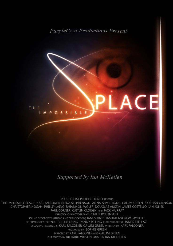 The official poster for The Impossible Place