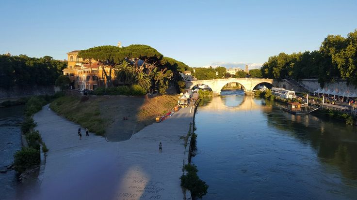 View at Tevere, Rome, Italy