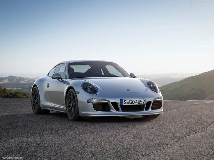 2015 Porsche 911 Carrera GTS Front Angle
