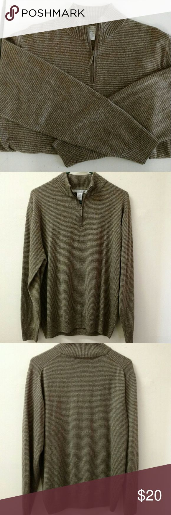 Geoffrey Beene shirt Like new Geoffrey Beene long sleeve shirt. You will love to cuddle with your man in this shirt, it is So soft!!! 100% acrylic material from a smoke and pet free home Geoffrey Beene Sweaters