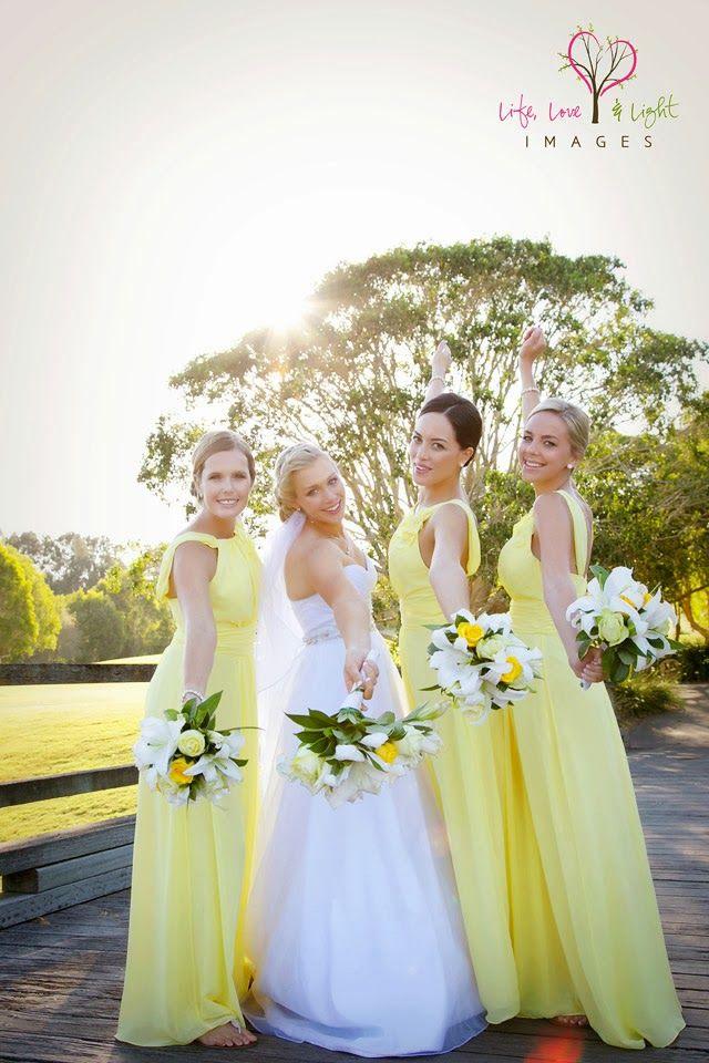 Yellow wedding theme - Life, Love & Light Images: ~Jade & Darryn~ *Married* {Gold Coast Wedding Photographer}