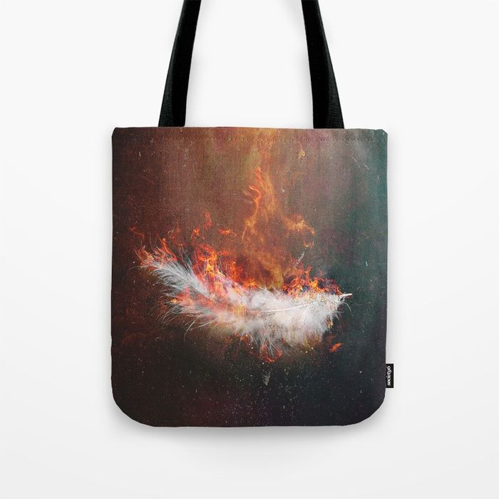 Icarus Tote Bag by HappyMelvin | Society6