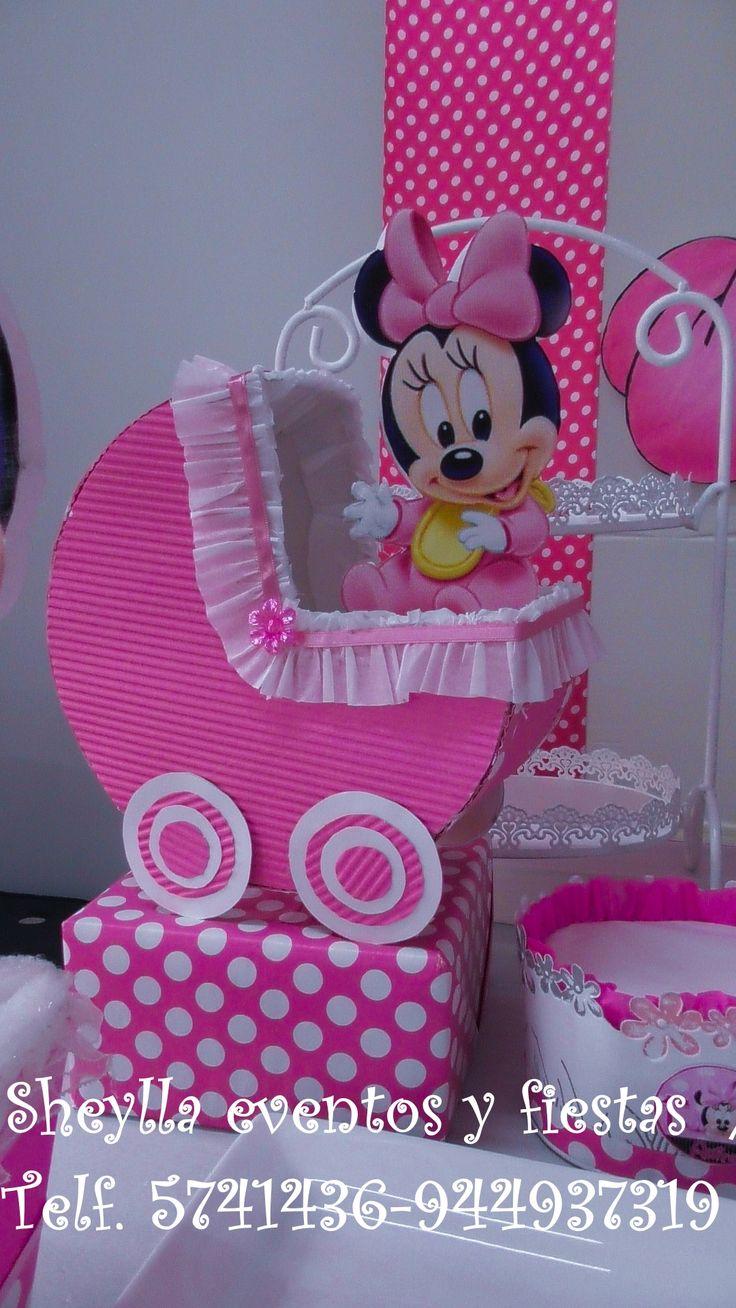 158 best minnie coqueta bebe boutique decoraci n de fiesta infantil tortas images on - Image minnie bebe ...
