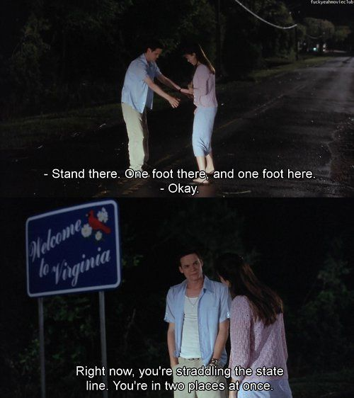 Someday I hope the douche bag I fall in love with turns out like this one <3 A Walk To Remember