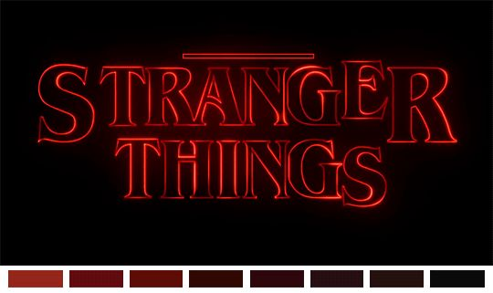 Stranger Things intro