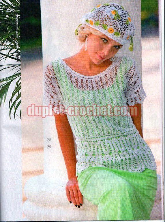 crochet patterns Journal Jurnal Zhurnal MOD 610 book magazine June 2017