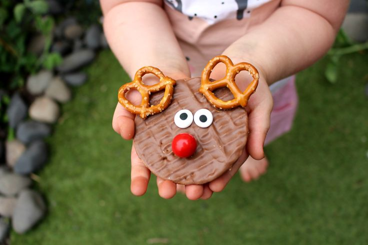 Rudolph the Reindeer Biscuits by Hey Little Sweet Thing