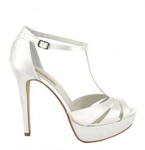 Svadobné topánky Menbur Mika svadobný salón valery, topánky na platforme