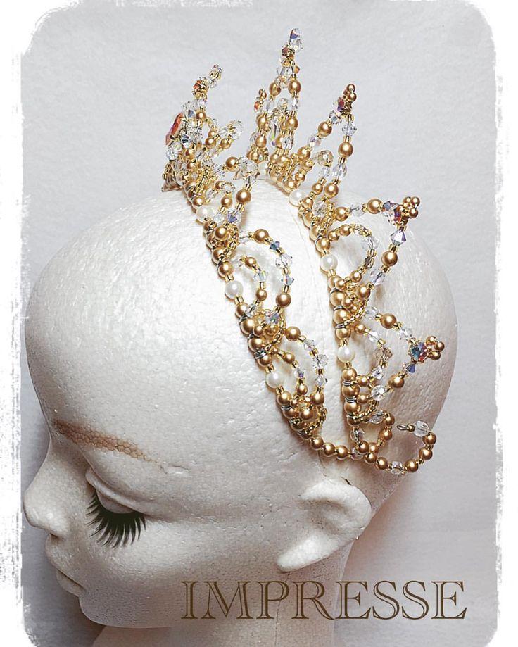 いいね!37件、コメント1件 ― Tomoko Tonookaさん(@impresse_ballet_tiara)のInstagramアカウント: 「2連カチューシャティアラのサイドから✨✨ #ballet #ballerina #ballettiara #tiara #princesstiara #weddingtiara #impresse…」