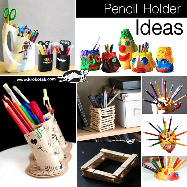 Pencil Holder Ideas