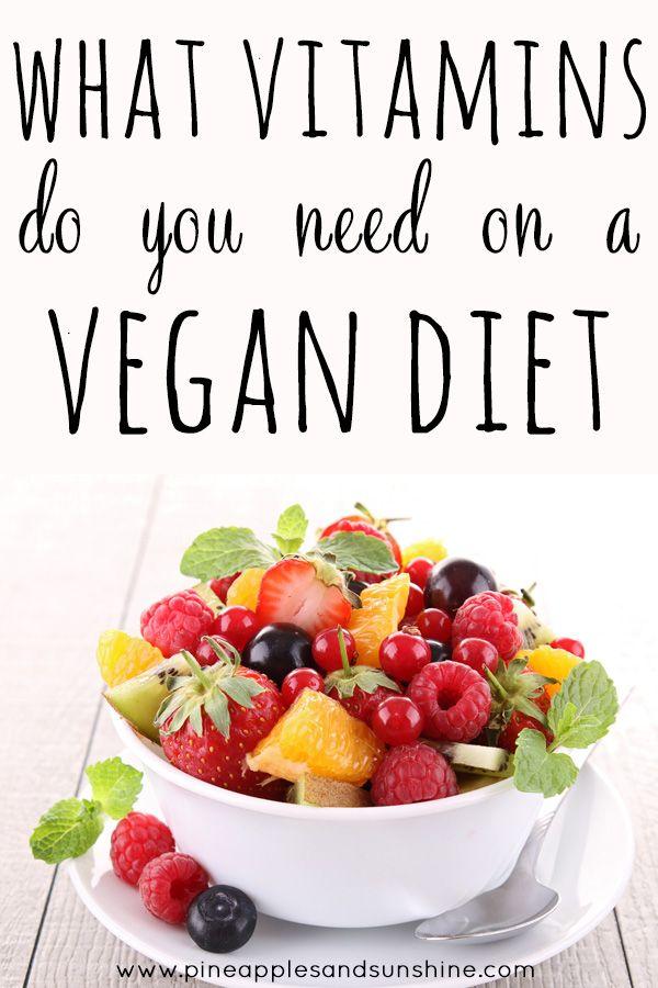 vitamins missing in vegan diet