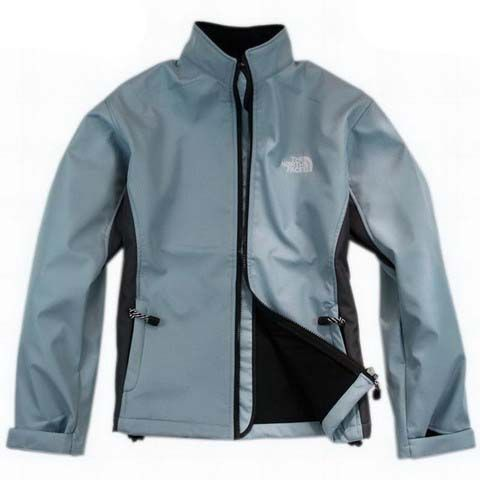 North Face Schoeller Jackets for Women Paint Blue