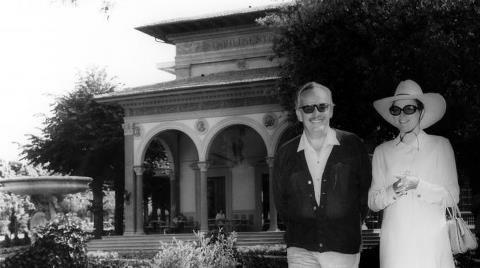 #GraceKelly, venne due volte a #Montecatini (una in viaggio di nozze) con il marito #principeRanieri di #Monaco. Quale altra località, oltre al principato sulla #CostaAzzurra, avrebbe potuto vantare una simile peculiarità?