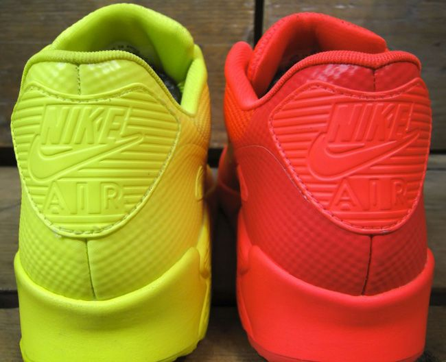 nike air max 90 hyperfuse neon yellow for sale