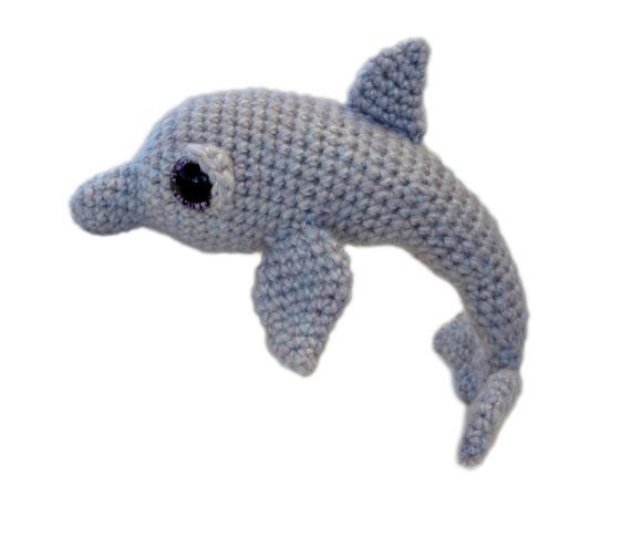 Dolphin Amigurumi Crochet Pattern PDF Instant by PatchworkMoose, £2.50