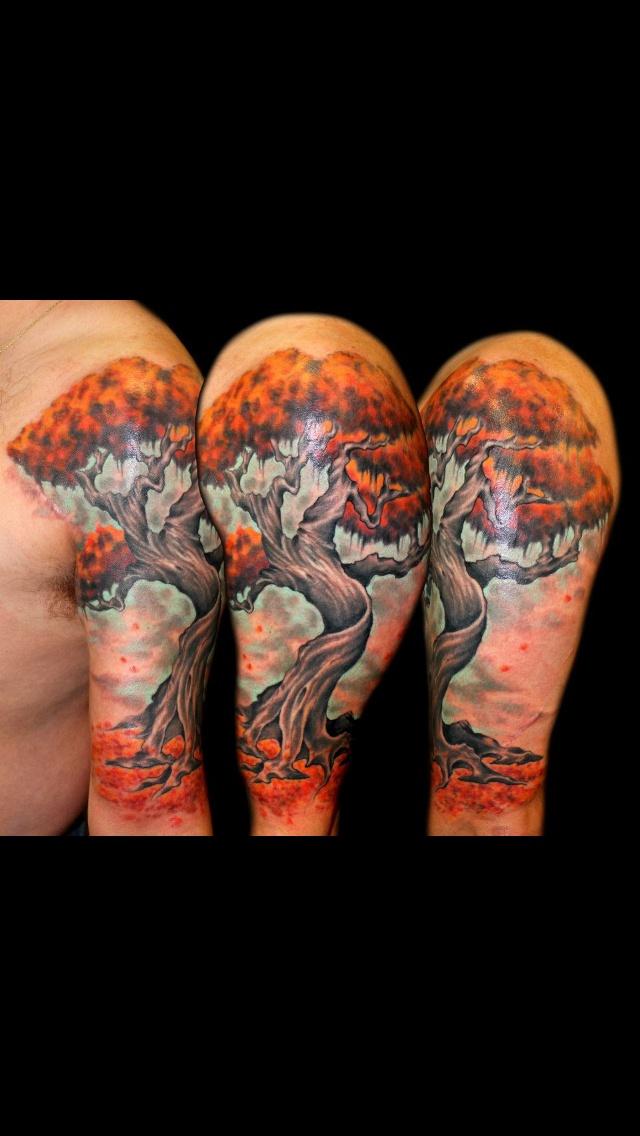 Tree. Do e with Formula 51 ink.