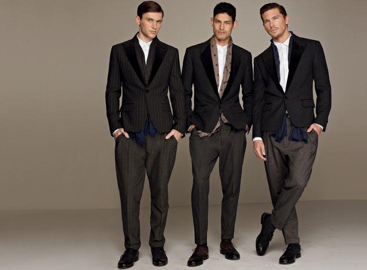Dolce Gabbana Autumn Winter 2017 Men S Sartorial Suiting Collection Martini Gold