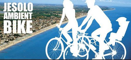 #Jesolo Ambient Bike #Percorsi ciclabili #cycle routes #Fahrradrouten #itinéraires cyclistes #Цикл маршрутов