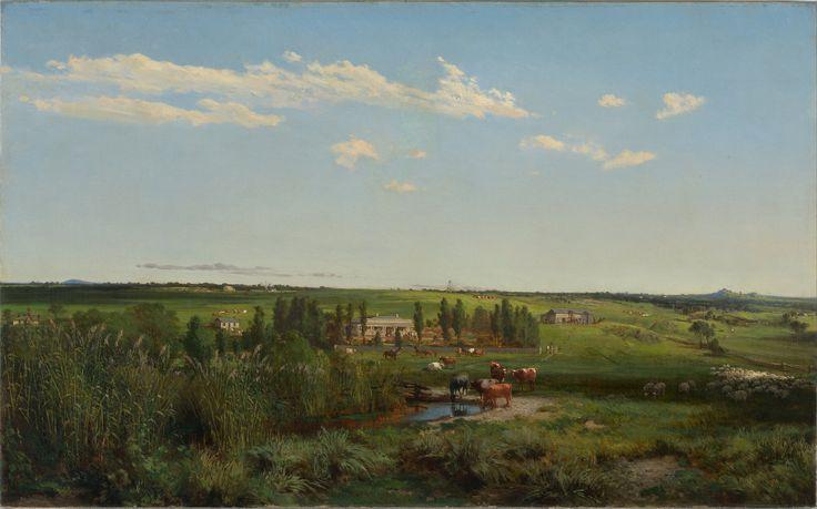 "Louis Buvelot - ""Mount Fyans"" Homestead"