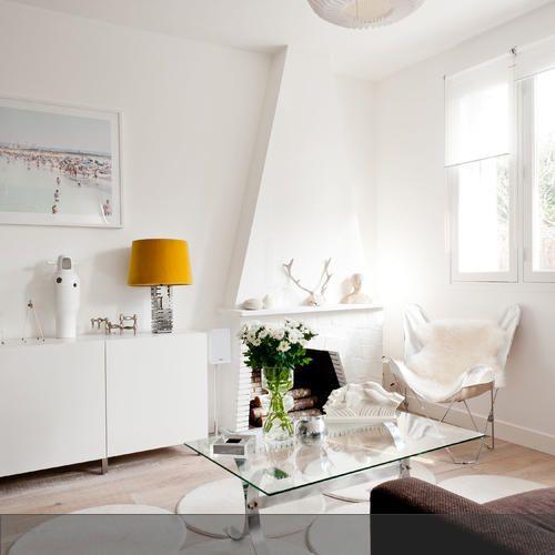 80 best Wohnen in Weiß images on Pinterest Live, Decoration and - wohnzimmer in wei
