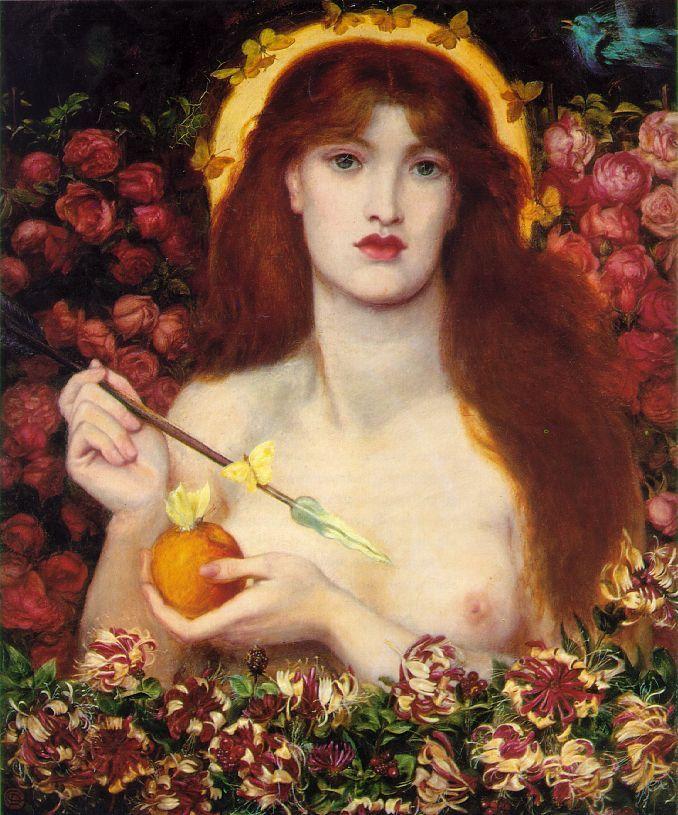 Dante Gabriel Rossetti, Venus Verticordia, 1864-1866