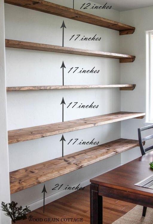 44 impressive diy shelves for storage style