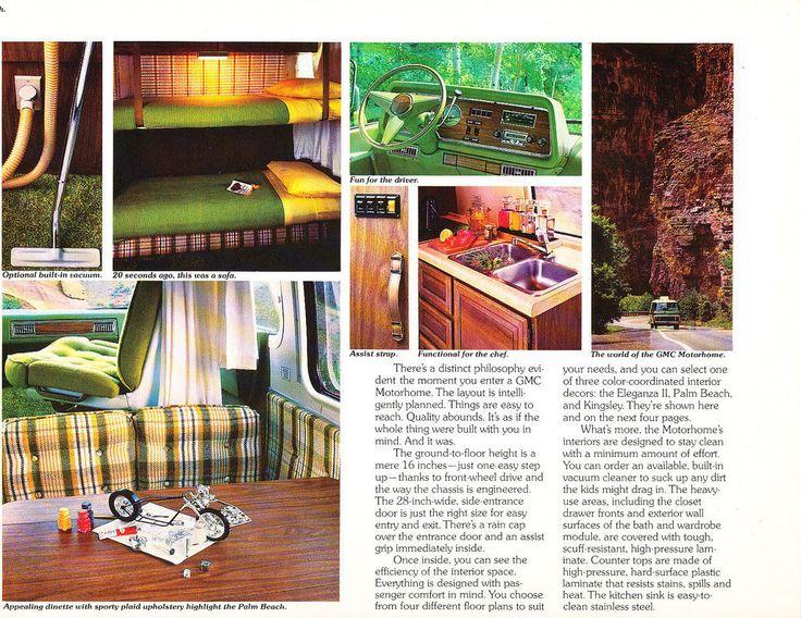 1978 GMC Motorhome Camper Palm Beach Eleganza Kingsley 16-page Sales Brochure   eBay