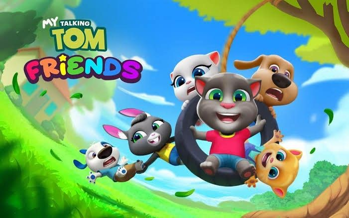 My Talking Tom Friends My Talking Tom Talking Tom Free Android Games