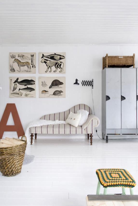 Una combinación cálida de estilo industrial y vintage