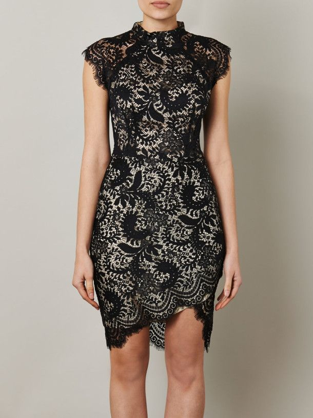 Lover Sara Lace Fitted Dress For Women - pictures, photos, images