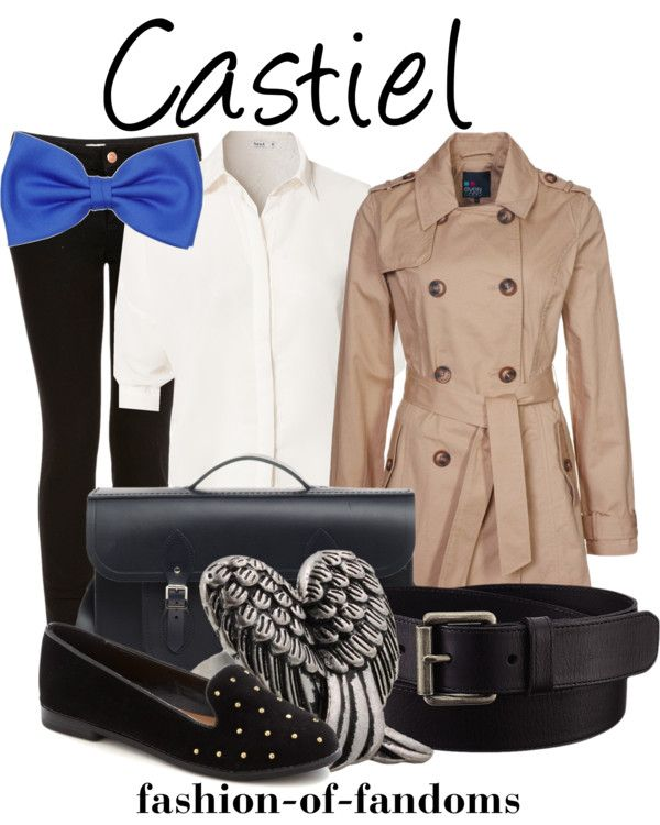 Fandom Fashion - Castiel. Want, want, want! We can think of dozens character-inspired outfits we want now.