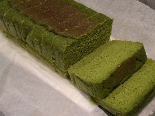 Matcha Cake with Okara (Soy Pulp) and Soy Milk
