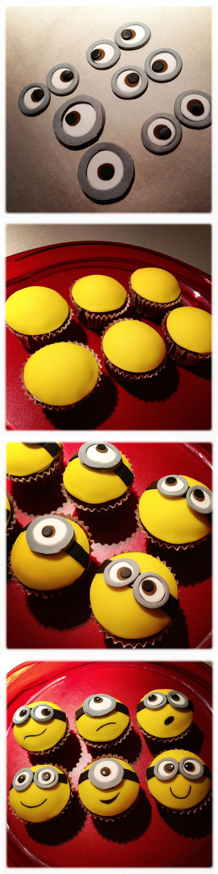 LaBKRY Minions Cupcakes!
