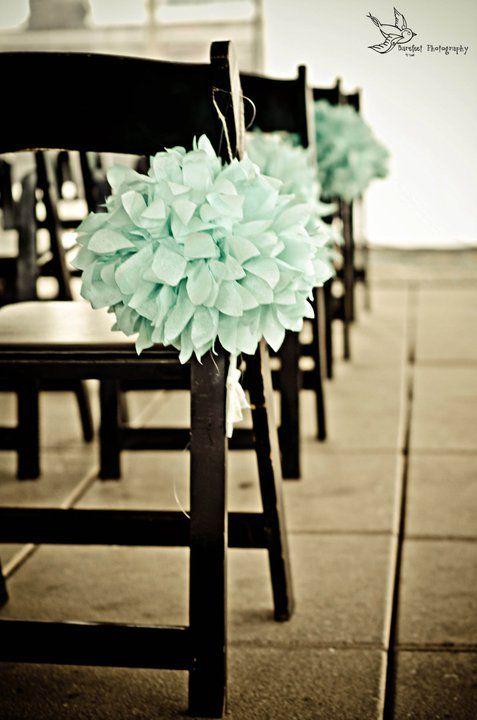 Wedding Ceremony Details Photos :  wedding ceremony diy reception teal 223545 218980261446537 125179487493282 935904 4589931 N