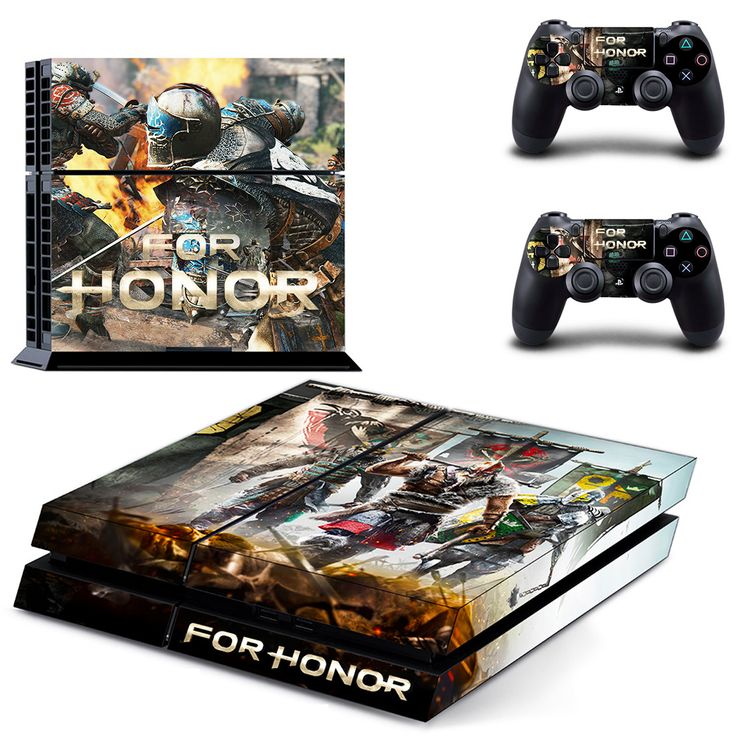 For honor ps4 skin decal for console and 2 controllers