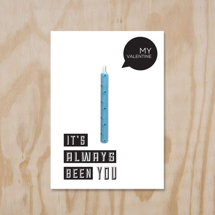 #Valentijnkaart. Candle Card, it's alway been you.