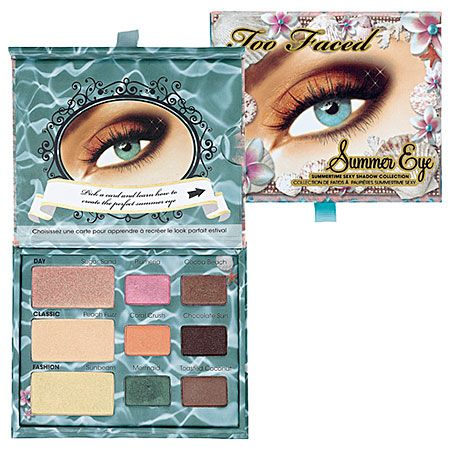 In love with the Two Faced eyeshadow palettes #SephoraColorWash