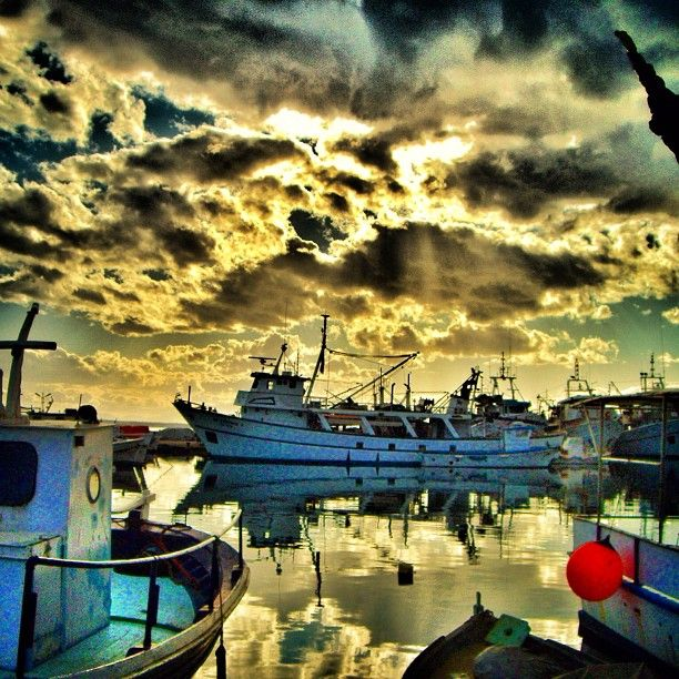 Kalamaria, #Thessaloniki, #Greece #SUNSET #Sailing Photo Credits: Kat d' Athènes  http://instagram.com/kat_d_athenes