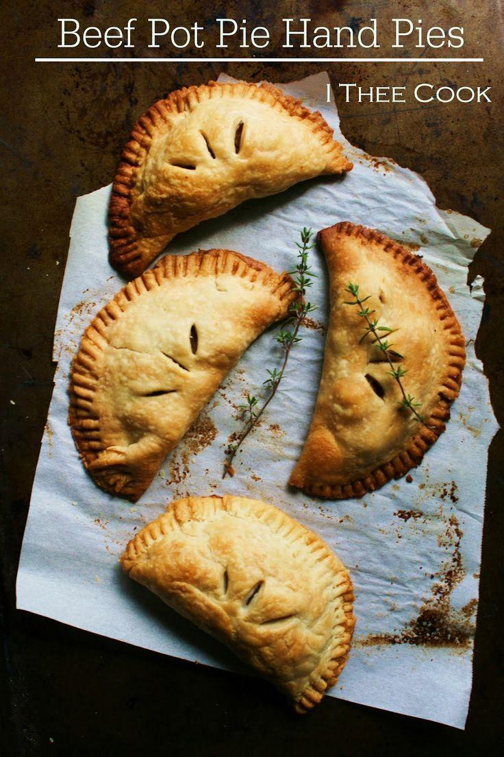 I Thee Cook: Beef Pot Pie Hand Pies