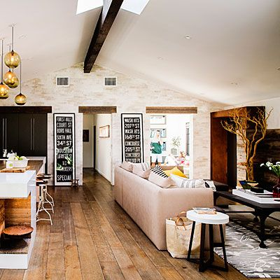 18 Ideas To Steal From A Rustic Modern Ranch House Paint Colors Design And The Floor