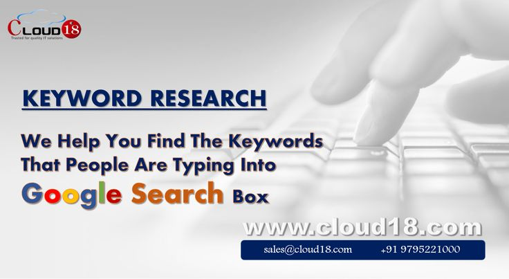 BUSINESS KEYWORD RESEARCH - Every search is a statement of people's needs, wants, interests and desires. Imagine how your business would benefit if you could analyze search trends on Google, find search terms that are associated with your business domain and customize content on your web site to serve the particular wants of your customers.  #Best #SEO #Company in #Lucknow #India