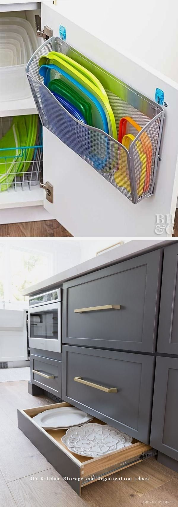 Stauraum Küche Diy 12 Diy Kitchen Storage Ideas For More Space In The Kitchen #diykitchen | Stauraum, Küchenorganisation, Ideen