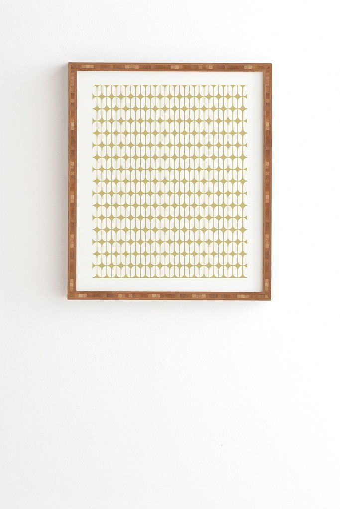 Caroline Okun Modular Beige Framed Wall Art   DENY Designs Home Accessories