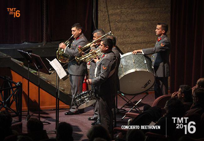 Banda Instrumental del Destacamento de Montaña N°8 Tucapel, Director David Ayma. TMT2016
