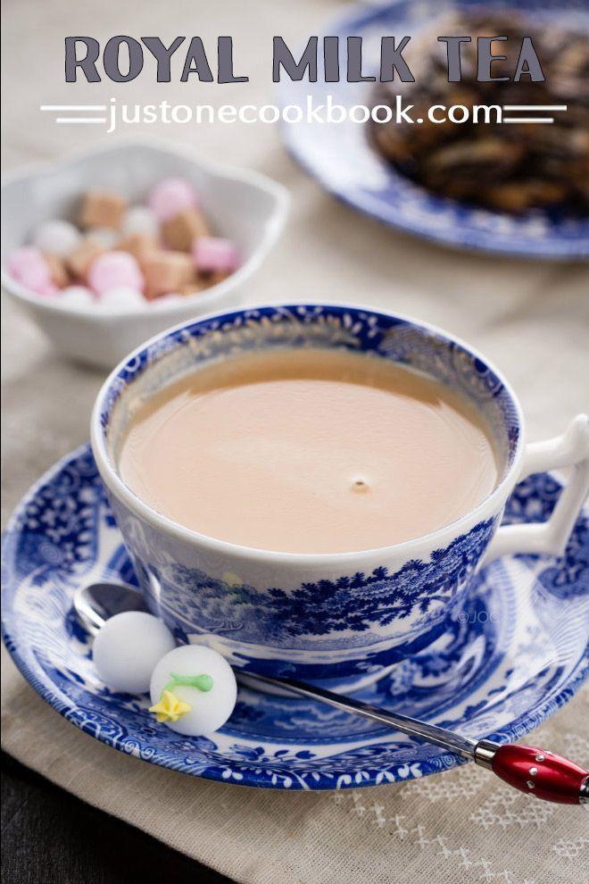 Royal Milk Tea (ロイヤルミルクティー)   Easy Japanese Recipes at JustOneCookbook.com